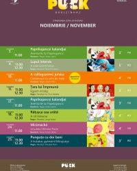Program noiembrie 2018