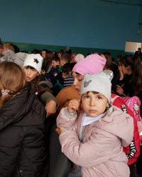 Punguța cu doi bani în Hreațca, Ucraina